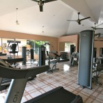 Gym available for use with rental