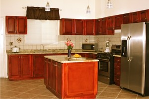 Kitchen of beautiful house in Chame